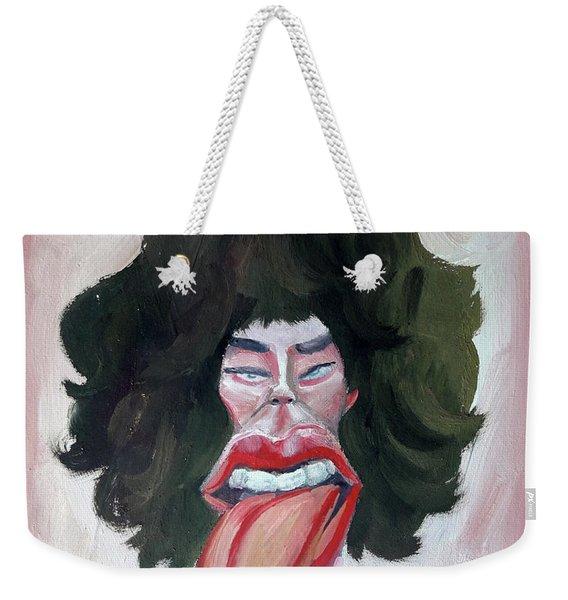 Mick Rock Star Weekender Tote Bag