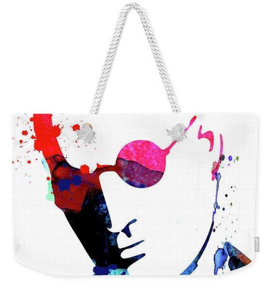 Mickey Watercolor Weekender Tote Bag