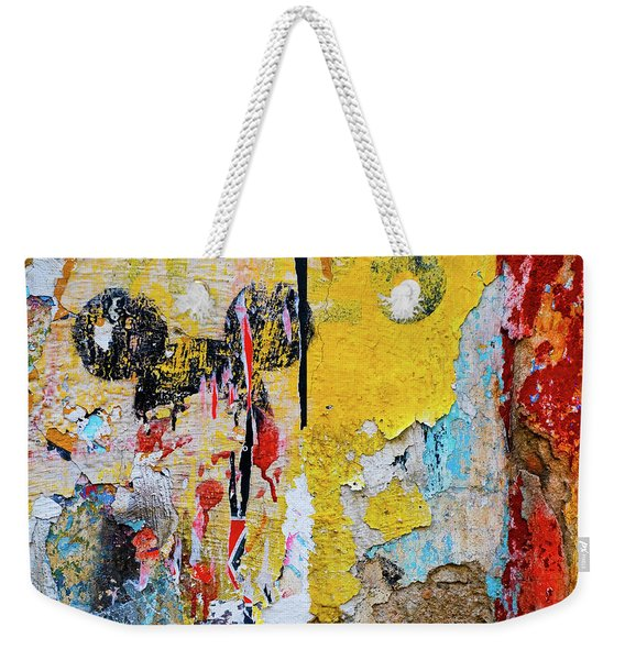Weekender Tote Bag featuring the photograph Mickeys Nightmare by Skip Hunt
