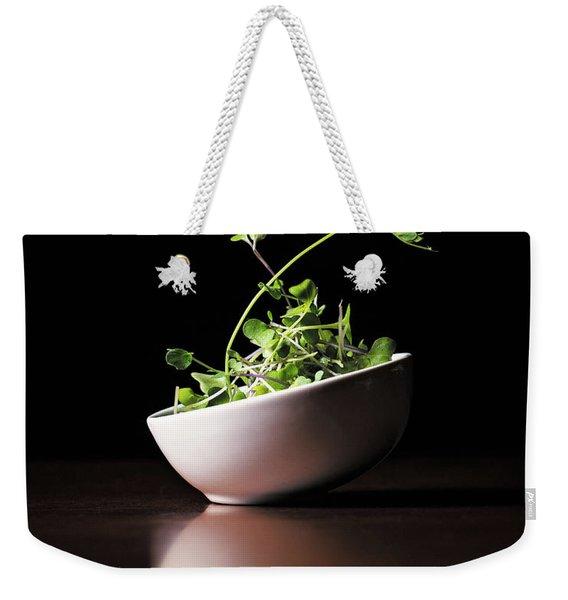 Micro Greens Weekender Tote Bag