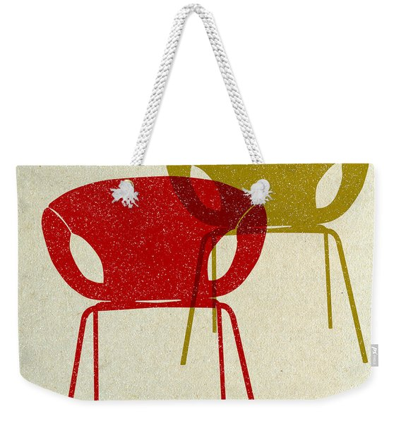 Mid Century Chairs Design II Weekender Tote Bag