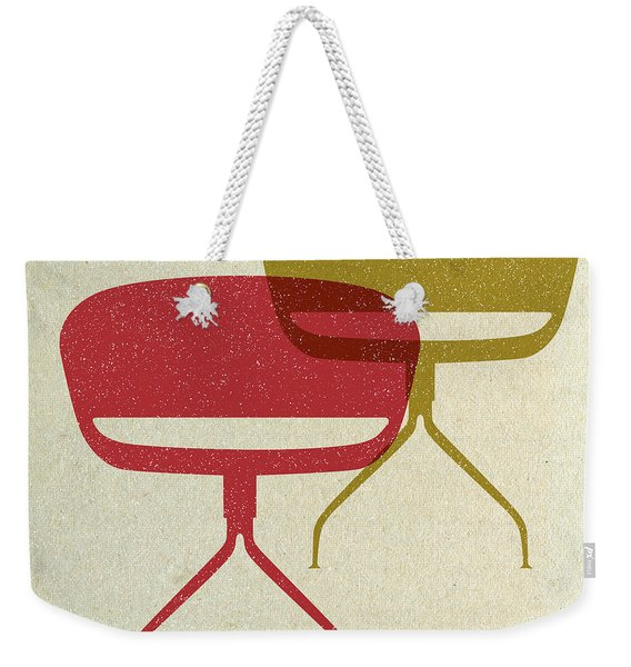 Mid Century Chairs I Weekender Tote Bag
