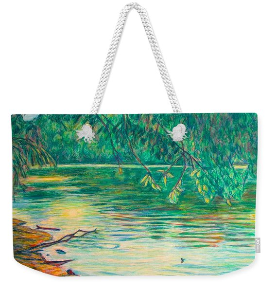 Mid-spring On The New River Weekender Tote Bag