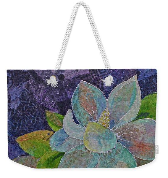 Midnight Magnolia II Weekender Tote Bag