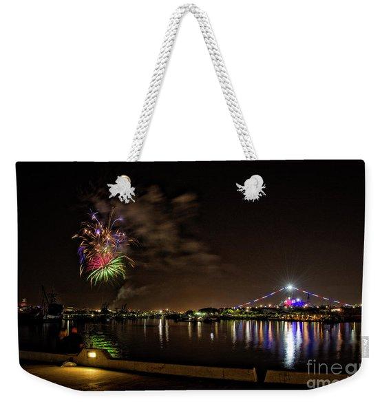 Midway Fireworks  Weekender Tote Bag