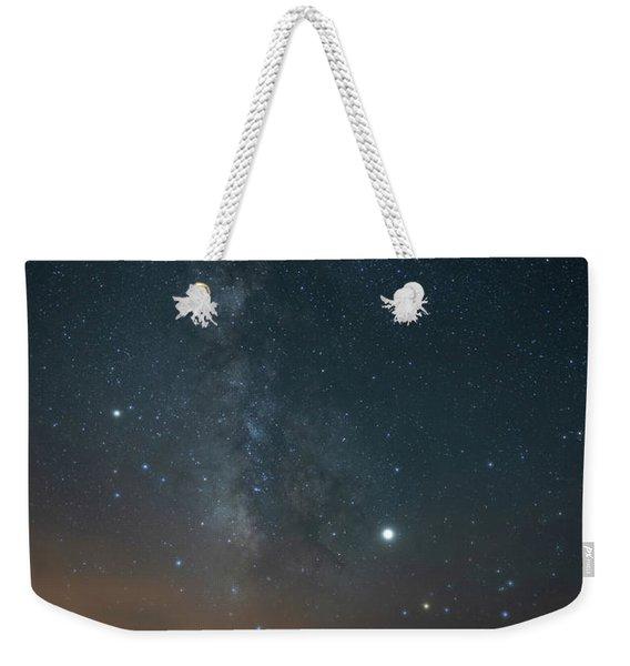 Milky Mesa Weekender Tote Bag