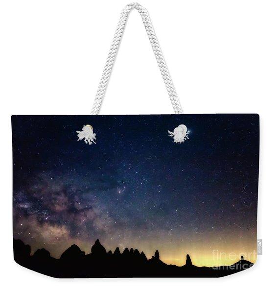 Milky Way Weekender Tote Bag