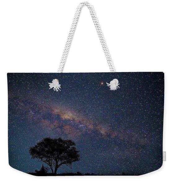 Milky Way Over Africa Weekender Tote Bag