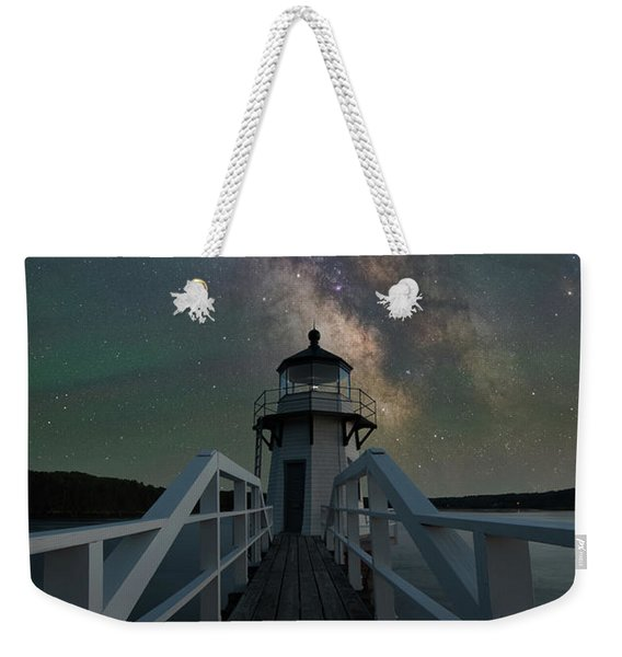 Milky Way Over Doubling Point Weekender Tote Bag