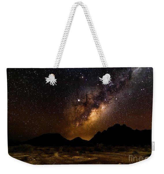 Milkyway Over Spitzkoppe 2, Namibia Weekender Tote Bag