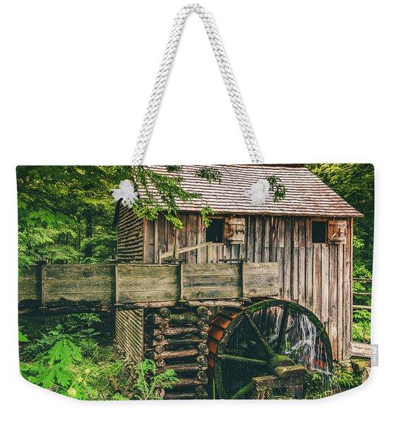 Mill At Cades Cove Weekender Tote Bag
