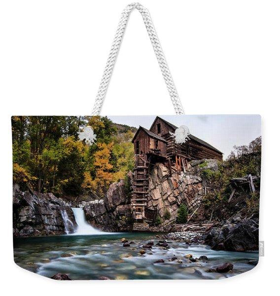 Mill On Crystal River Weekender Tote Bag