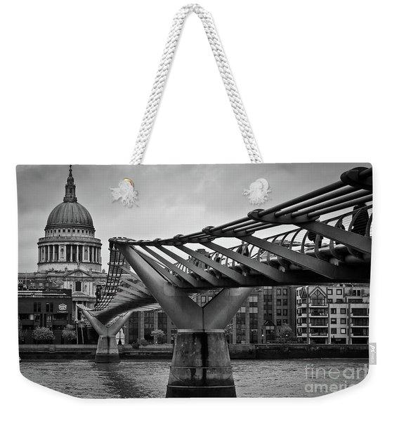 Millennium Bridge 01 Weekender Tote Bag