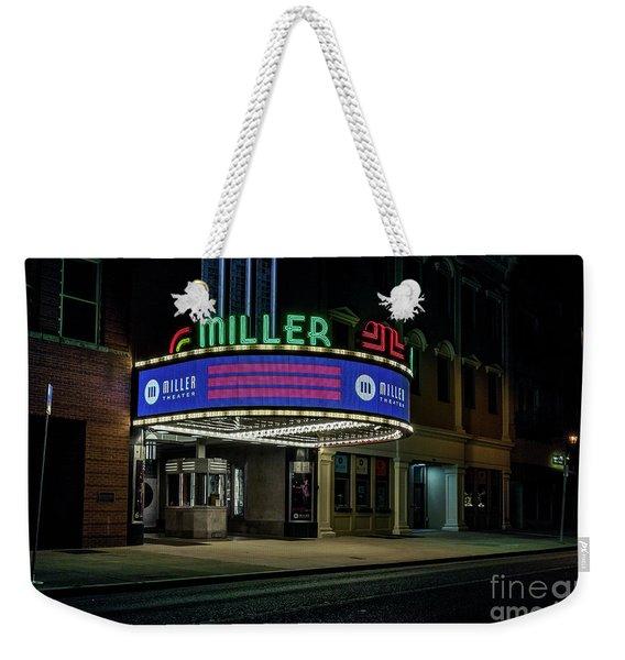 Miller Theater Augusta Ga Weekender Tote Bag