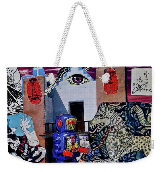 Mind's Eye Weekender Tote Bag