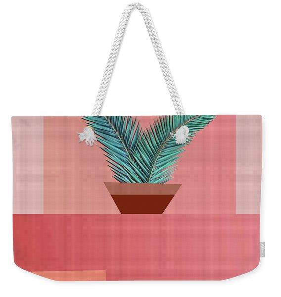 Minimal Tropic Weekender Tote Bag
