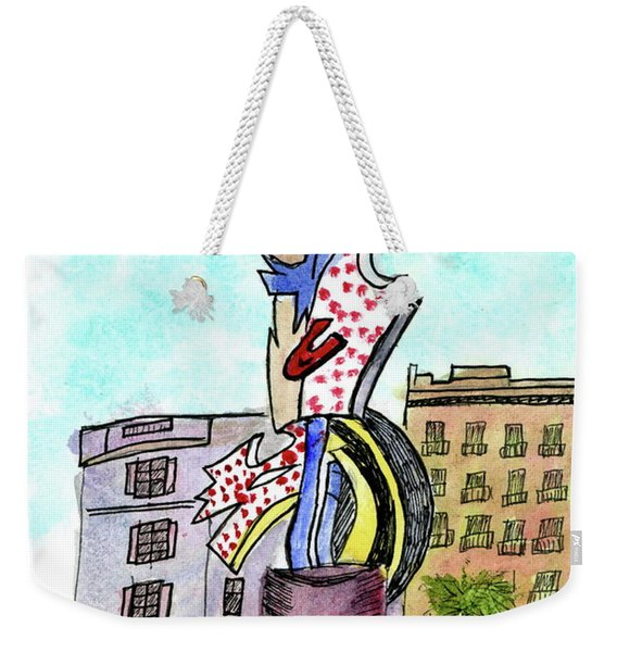 Roy Lichtenstein's El Cap Weekender Tote Bag