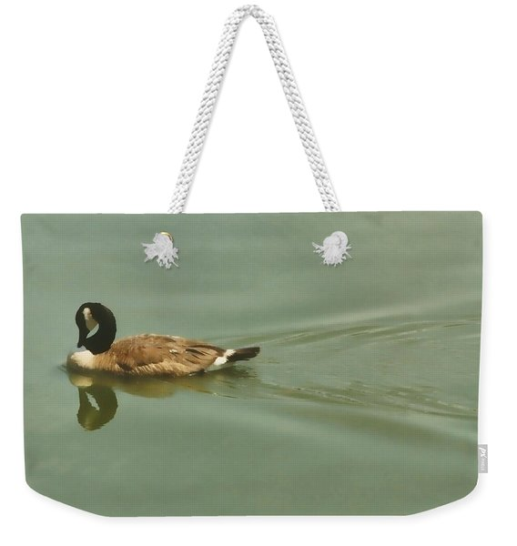 Weekender Tote Bag featuring the photograph Mirror Image by JAMART Photography