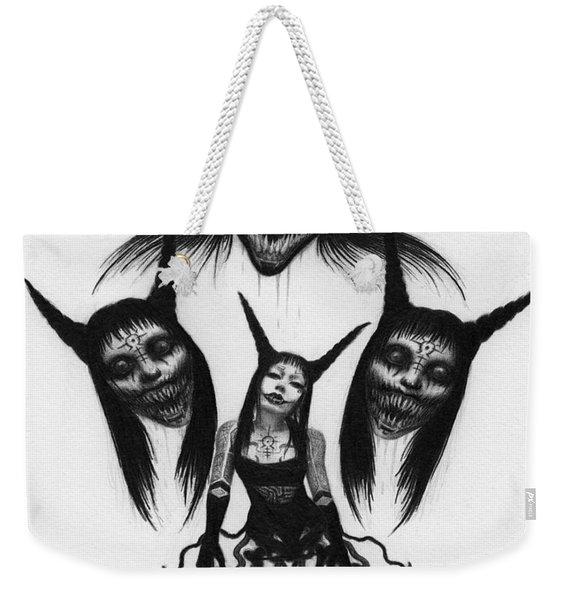 Miss Carnivorous - Artwork Weekender Tote Bag