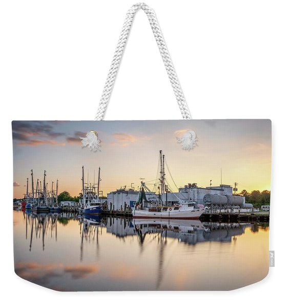 Miss My And Bayou Sunset Weekender Tote Bag