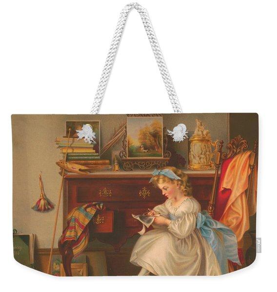 Miss Oakley Making The Scrapbook 1866 Weekender Tote Bag