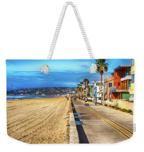 Mission Beach Boardwalk Weekender Tote Bag