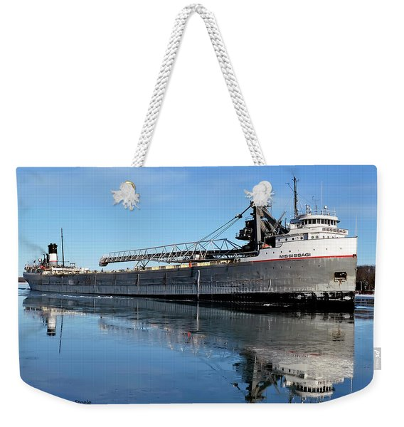 Mississagi Reflection Weekender Tote Bag