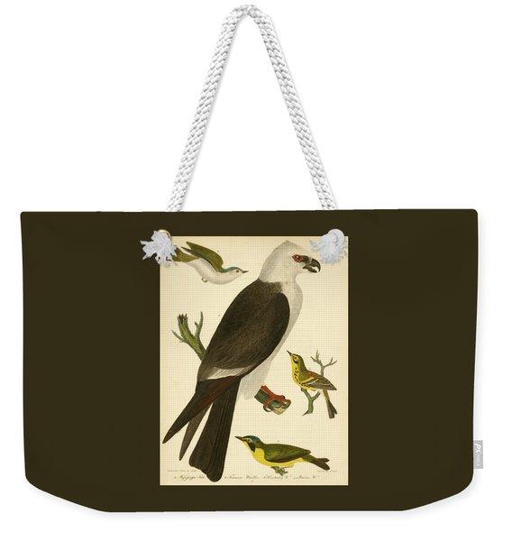 Mississippi Kite Weekender Tote Bag