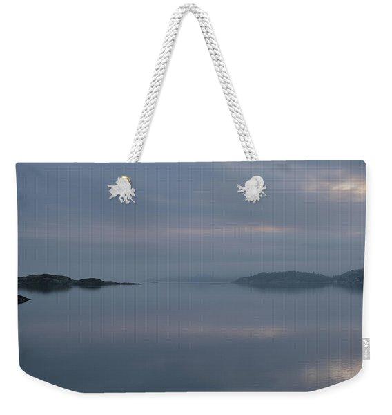 Misty Day Weekender Tote Bag