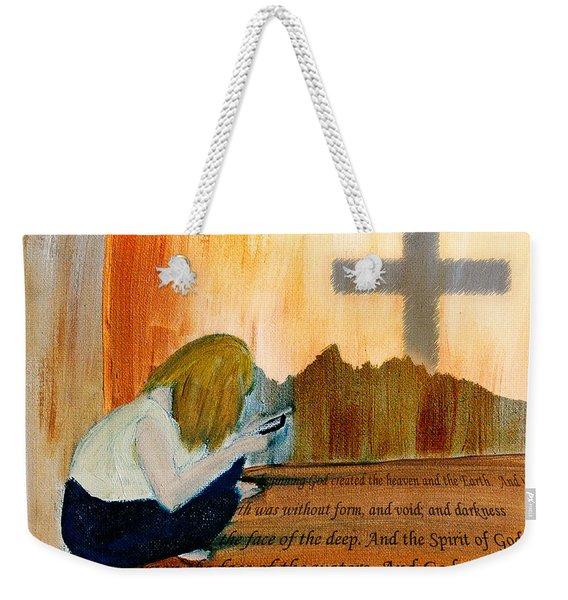 Mobile Religion Weekender Tote Bag