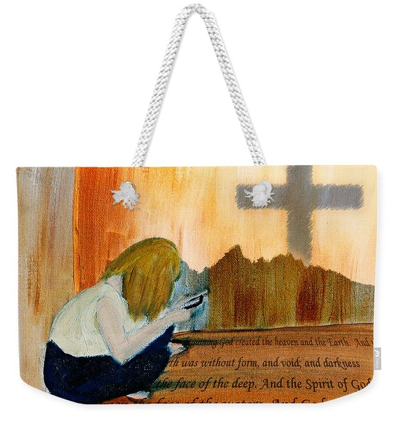 Mobile Religion Weekender Tote Bag