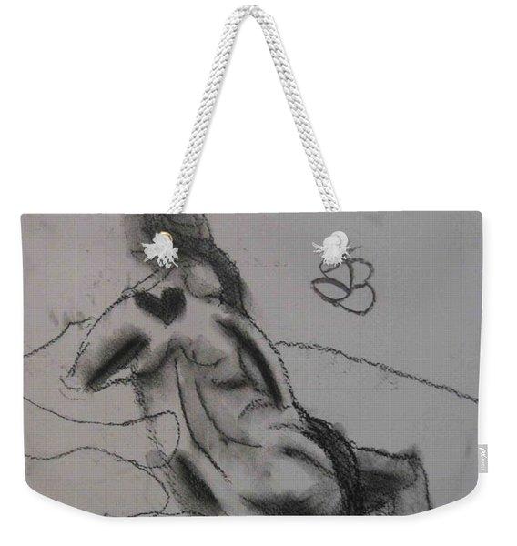 model named Chieh one Weekender Tote Bag