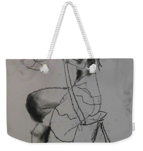 model named Chieh two Weekender Tote Bag