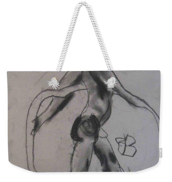 model named Guy Weekender Tote Bag