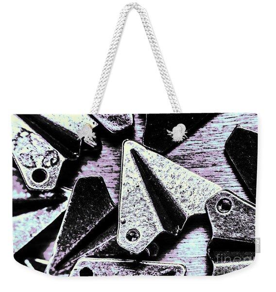Modelled In Aerodynamics Weekender Tote Bag