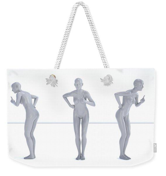 Models 001 Weekender Tote Bag