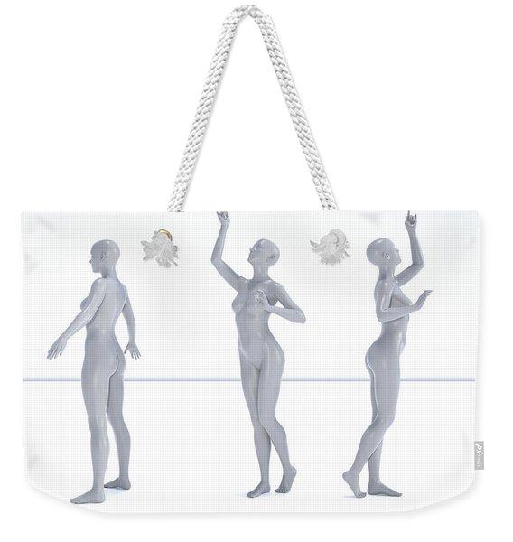Models 002 Weekender Tote Bag