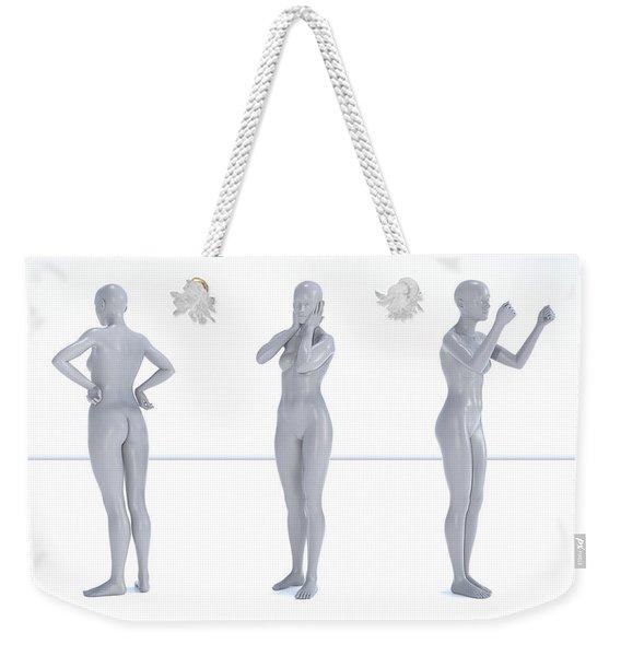 Models 003 Weekender Tote Bag