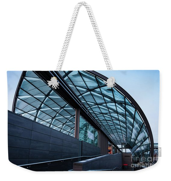 Modern Architecture Shell Weekender Tote Bag