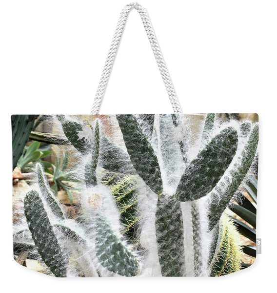 Mojave Prickly Pear Weekender Tote Bag