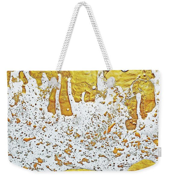 Molten Gold  Weekender Tote Bag
