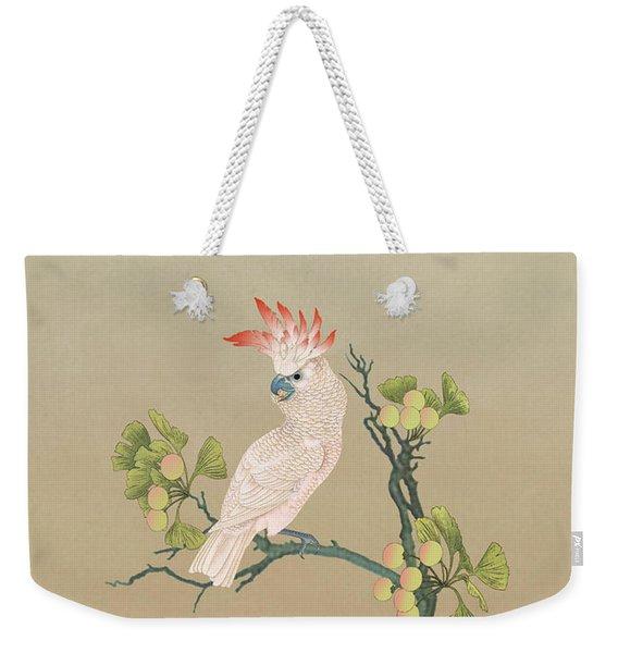 Moluccan Cockatoos  Weekender Tote Bag