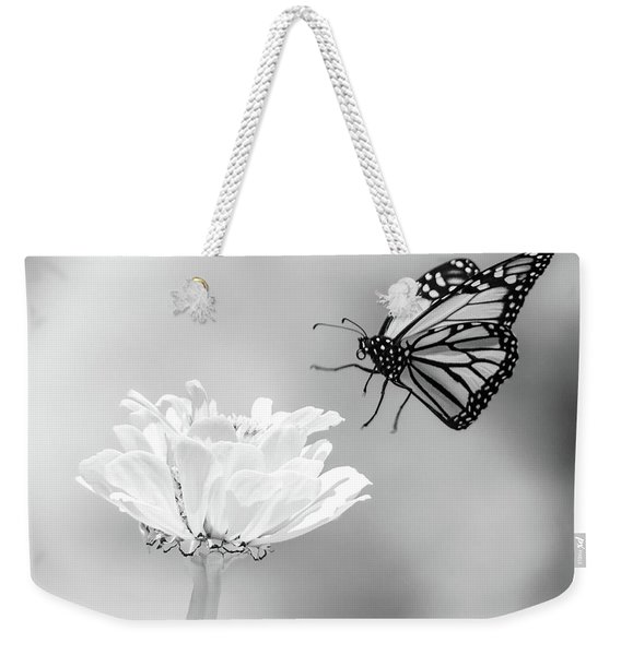 Monarch In Infrared 6 Weekender Tote Bag