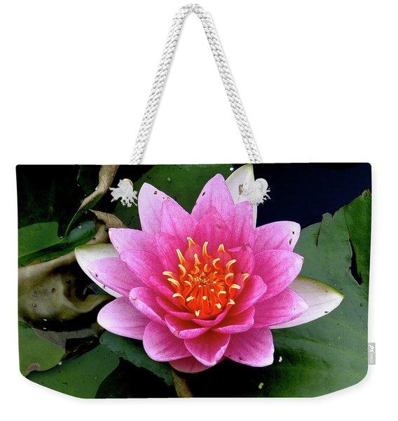 Monet Water Lilly Weekender Tote Bag