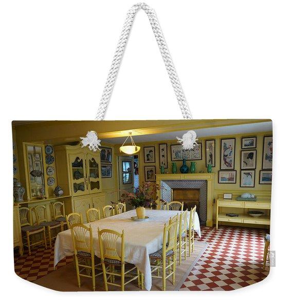 Monets House 1 Weekender Tote Bag