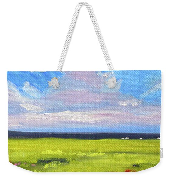 Montana Prairie Weekender Tote Bag
