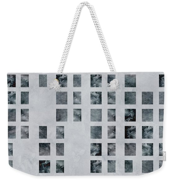 Moody Blues Data Pattern Weekender Tote Bag