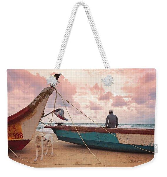 Moody Skies Weekender Tote Bag