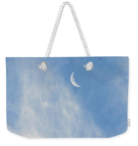 Moon In Libra - Crescent Farewell Weekender Tote Bag