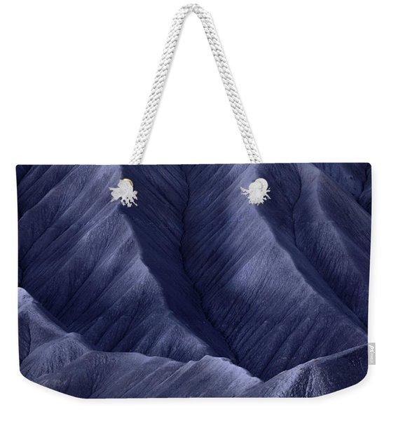 Moon Light Mountainside Weekender Tote Bag